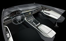 Обои автомобили Audi Q8 50 TDI quattro S line - 2018