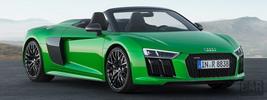 Audi R8 Spyder V10 plus - 2017