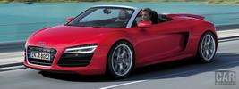 Audi R8 V10 Spyder - 2012