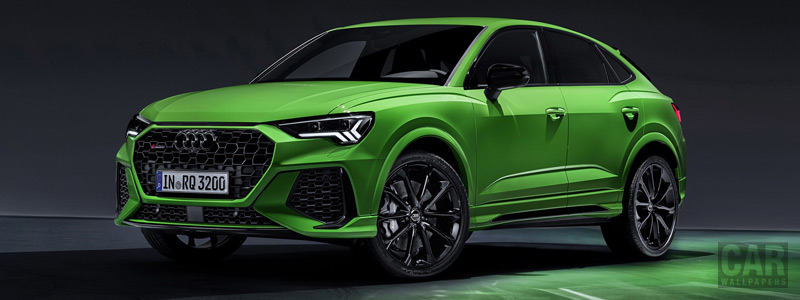 Обои автомобили Audi RS Q3 Sportback - 2019 - Car wallpapers