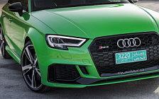 Обои автомобили Audi RS3 Sedan - 2017