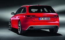 Обои автомобили Audi RS4 Avant - 2012