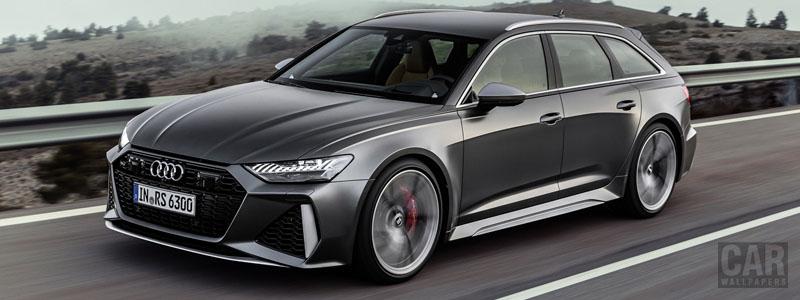 Обои автомобили Audi RS6 Avant - 2019 - Car wallpapers