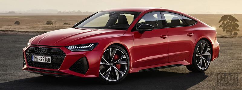 Обои автомобили Audi RS7 Sportback - 2019 - Car wallpapers