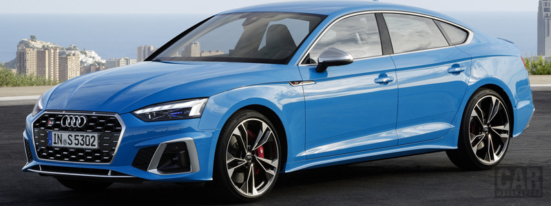 Обои автомобили Audi S5 Sportback TDI Restyling - 2019 - Car wallpapers