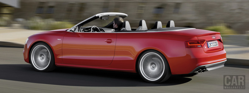 Обои автомобили Audi S5 Cabriolet - 2011 - Car wallpapers