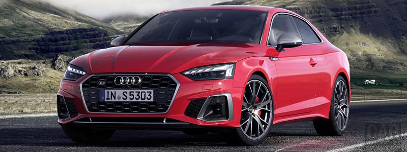 Обои автомобили Audi S5 Coupe TDI Restyling - 2019 - Car wallpapers