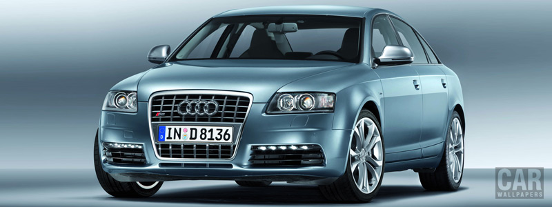 Обои автомобили Audi S6 - 2008 - Car wallpapers