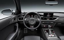 Обои автомобили Audi S6 - 2014