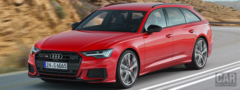 Обои автомобили Audi S6 Avant TDI - 2019 - Car wallpapers