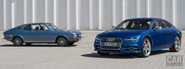 Audi 100 Coupe S and Audi S7 Sportback - 2014