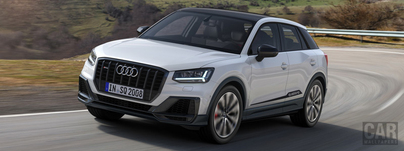 Обои автомобили Audi SQ2 - 2019 - Car wallpapers