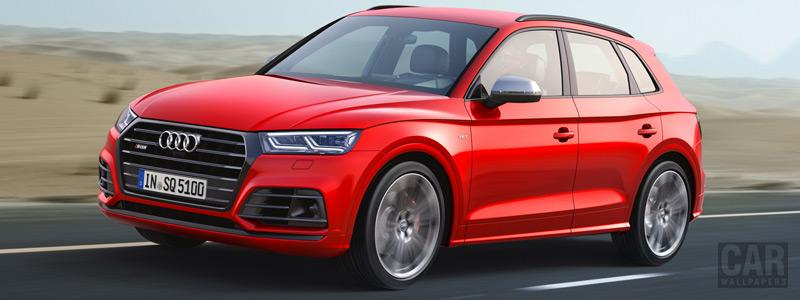 Обои автомобили Audi SQ5 3.0 TFSI - 2017 - Car wallpapers