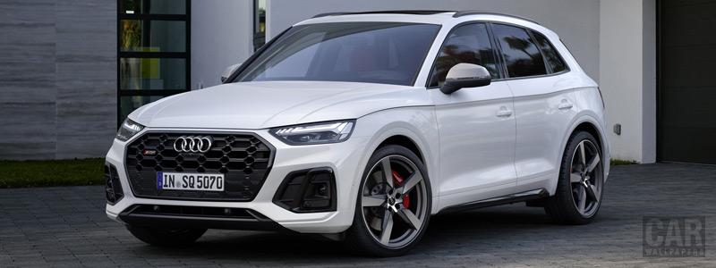 Обои автомобили Audi SQ5 3.0 TDI - 2020 - Car wallpapers