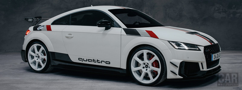 Обои автомобили Audi TT RS Coupe 40 Jahre quattro - 2020 - Car wallpapers