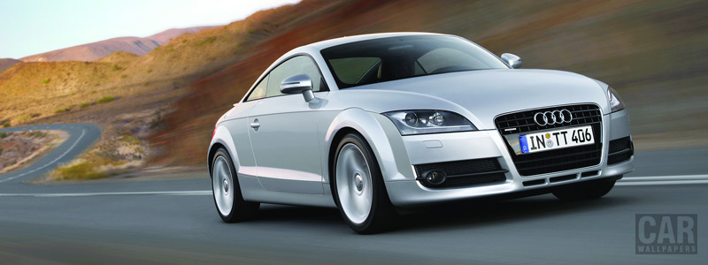 Обои автомобили Audi TT Coupe - 2006 - Car wallpapers