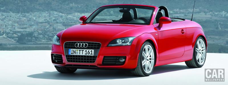 Обои автомобили Audi TT Roadster - 2007 - Car wallpapers