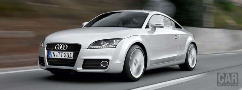 Обои автомобили Audi TT Coupe - 2010 - Car wallpapers