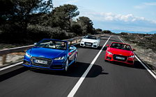 Обои автомобили Audi TT Roadster 2.0 TFSI quattro S line - 2015