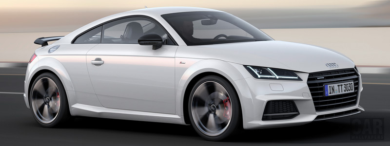 Обои автомобили Audi TT Coupe S line competition - 2016 - Car wallpapers