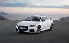 Обои автомобили Audi TT Coupe S line competition - 2016