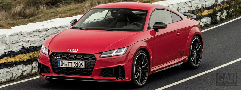 Обои автомобили Audi TTS competition Coupe - 2019 - Car wallpapers